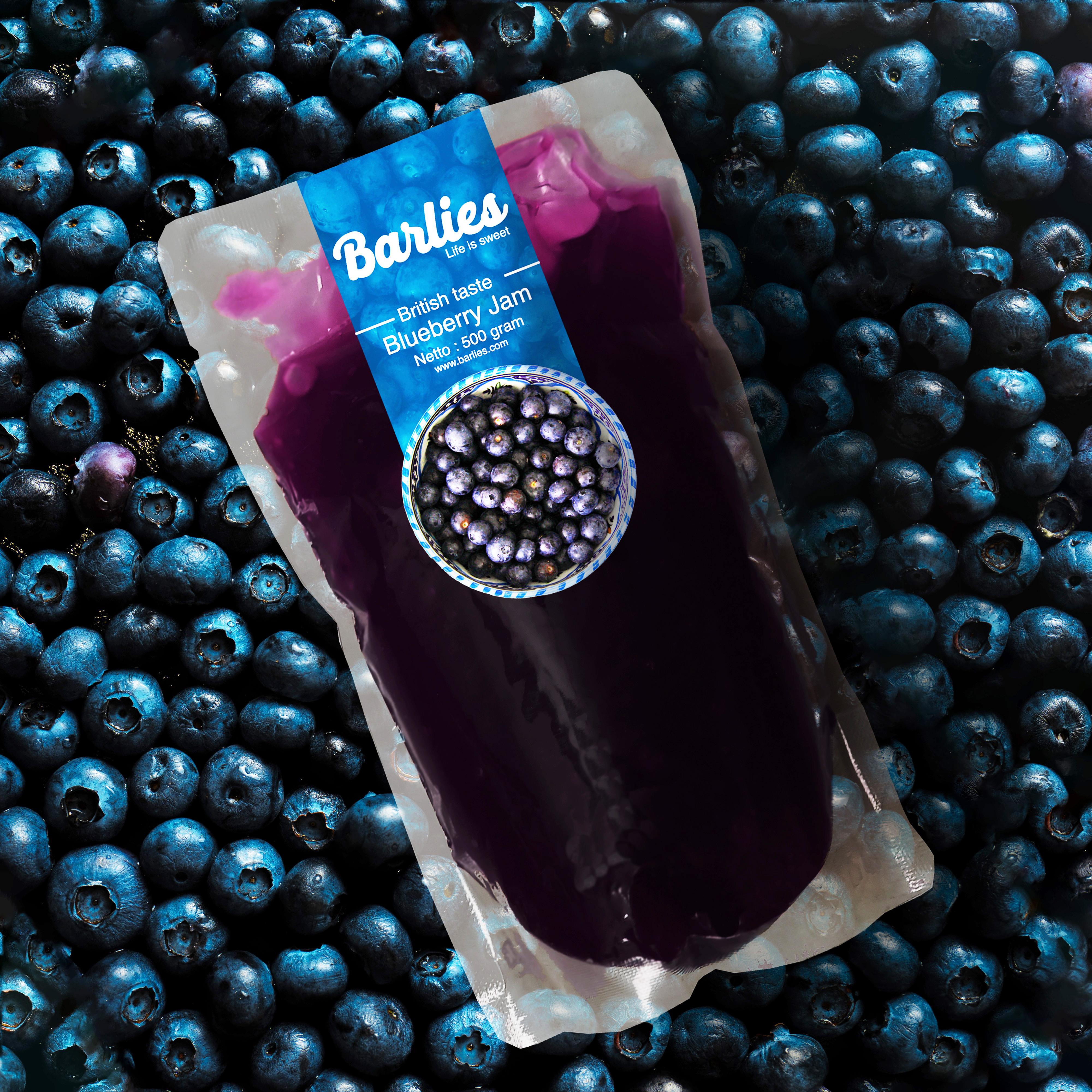 Selai Blueberry Merk Barlies